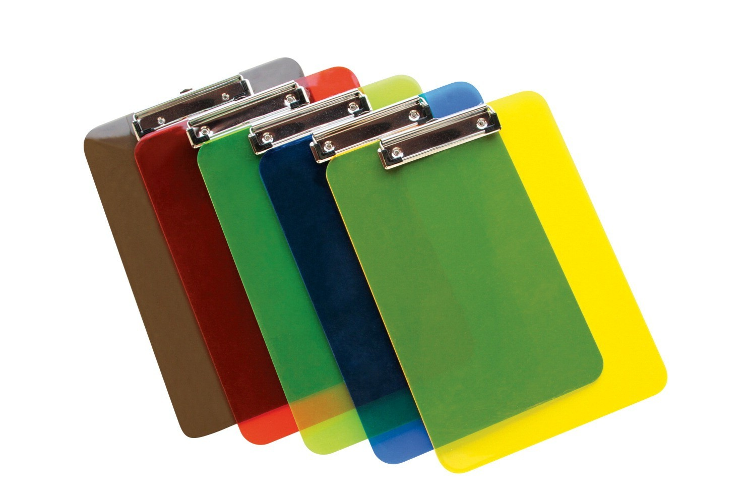 "12-3/8 X 8-7/8"", Clipboard, Translucent Plastic, Colors May Vary"