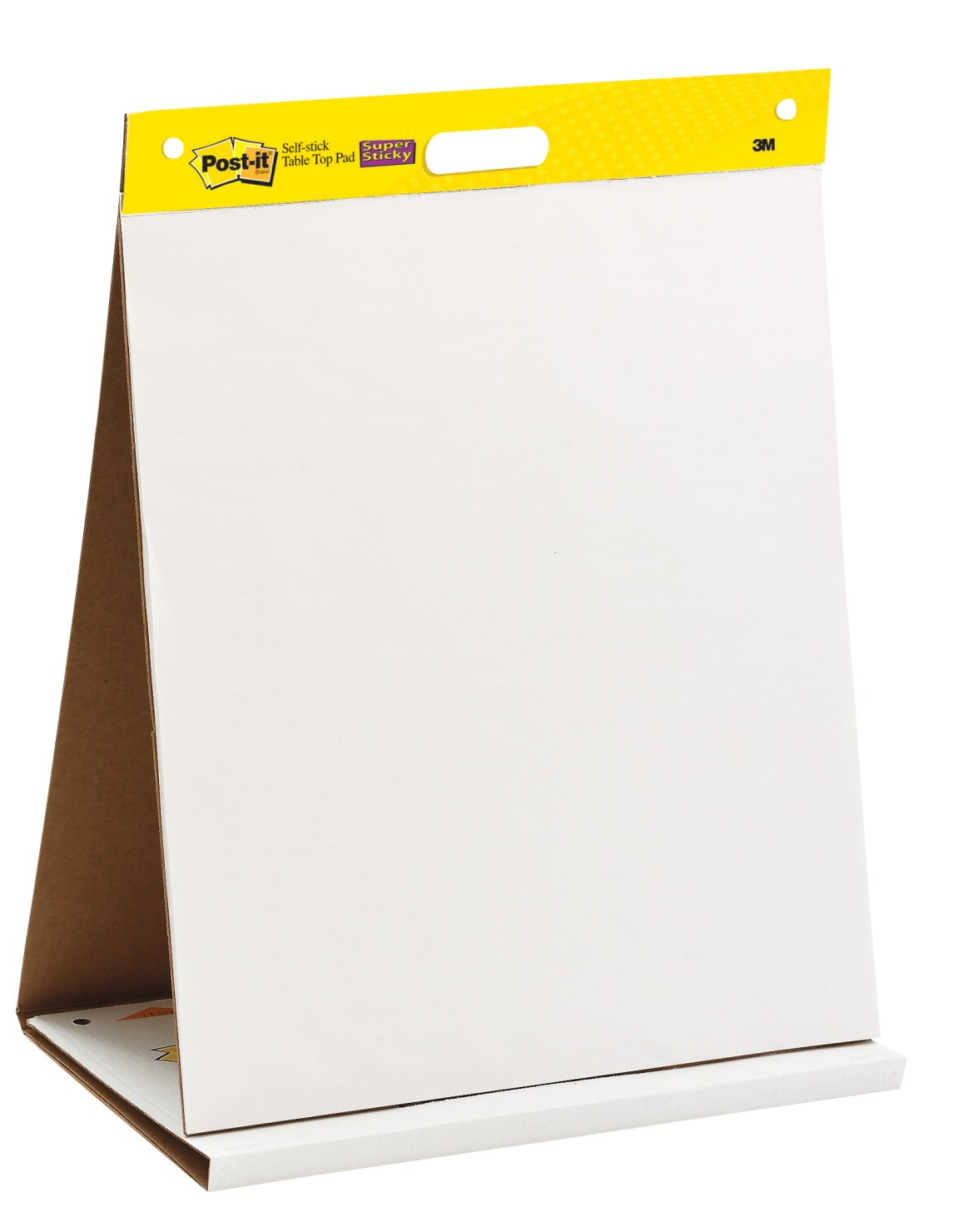 20 X 23 Post-It Easel Pad, Table Top, Unruled, White - 20 Sheets/Pad