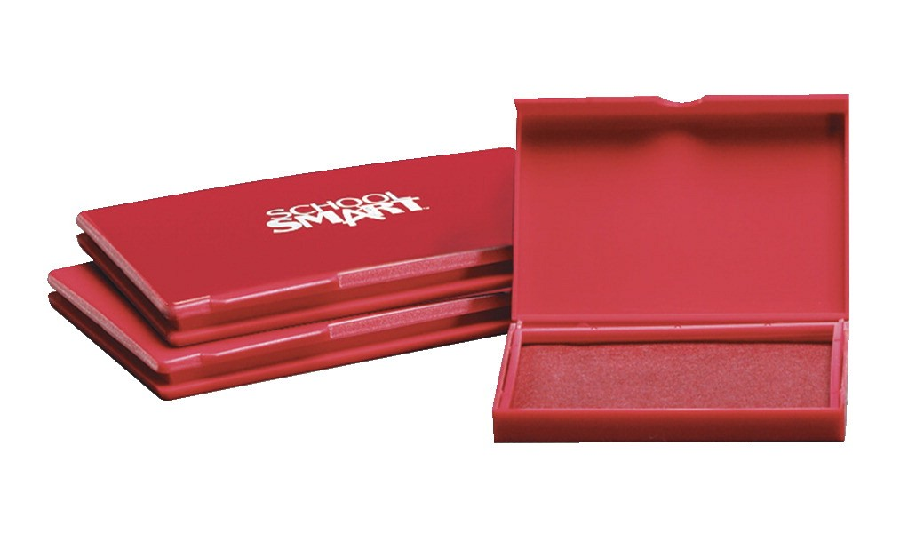 Stamp Pad 3.75 x 5In. - Unscented - Red