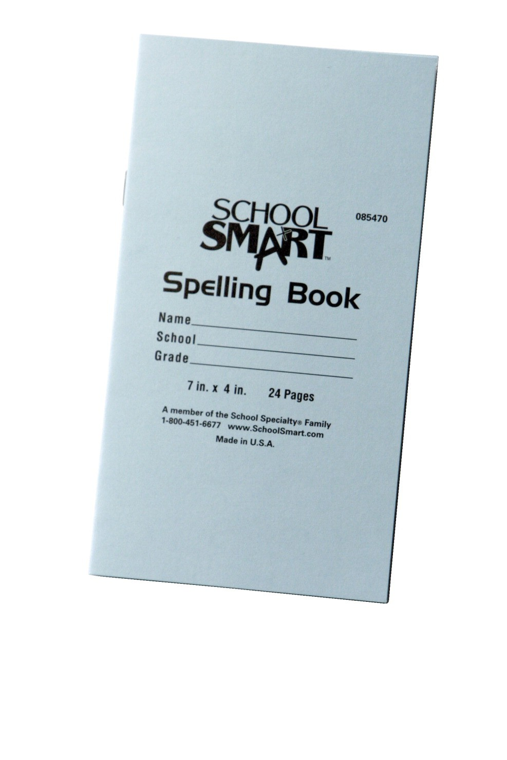 "Spelling Blank Books, 4 X 7"" - 24 Pages, 12/Pkg"