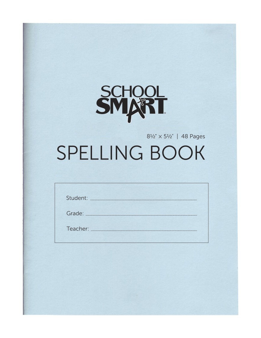 Spelling Blank Books, 5-1/2 X 8-1/2 In., 48 Pages - 24/Pkg