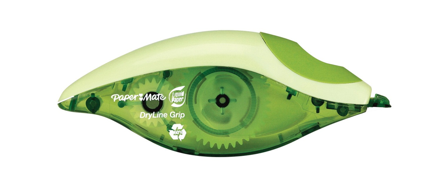 Paper Mate Liquid Paper DryLine Correction Tape, 1/5 x 334 in, Pack of 2