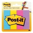 1 X 3 Post-it Page Markers, 50 Sheets/Pad, Ultra Assorted - 4/Pkg