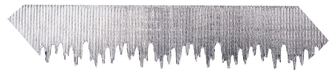 Bordette Icicles Border, 2-1/4 in X 25 ft, Metallic Silver