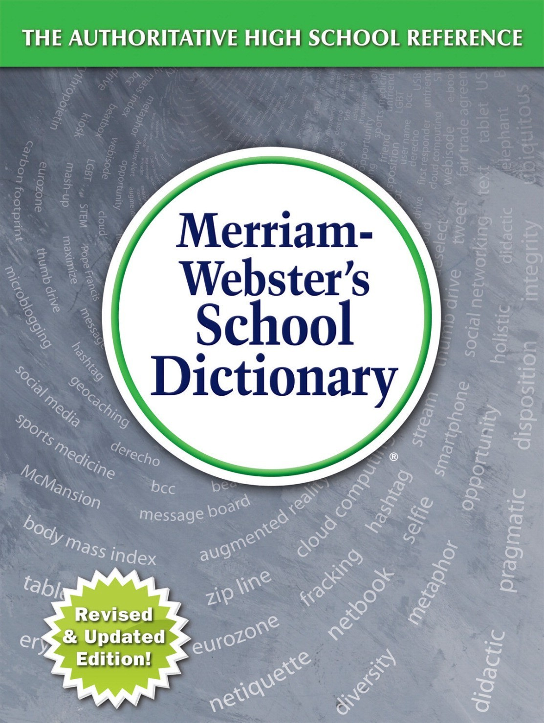 Merriam Webster's Hard Cover School Dictionary