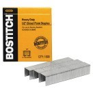 Stanley Bostitch Chisel Point Heavy Duty Staple, 1/2 in Crown, 1/2 in Leg, 25 - 85 Sheets, High Carbon Steel, Pack of 1000