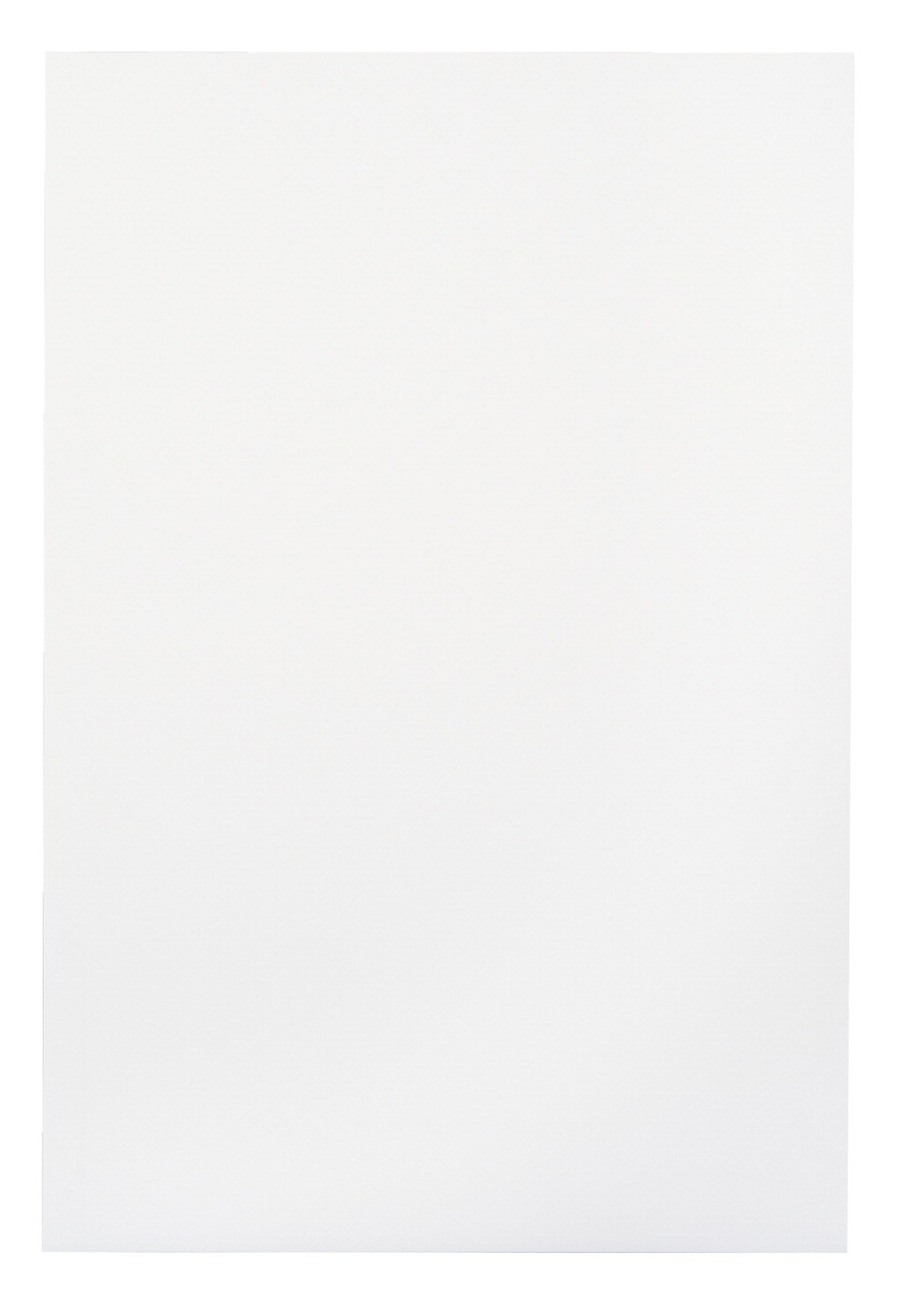 12 X 18 Folding Bristol Board, White - 100 Sht/Pkg