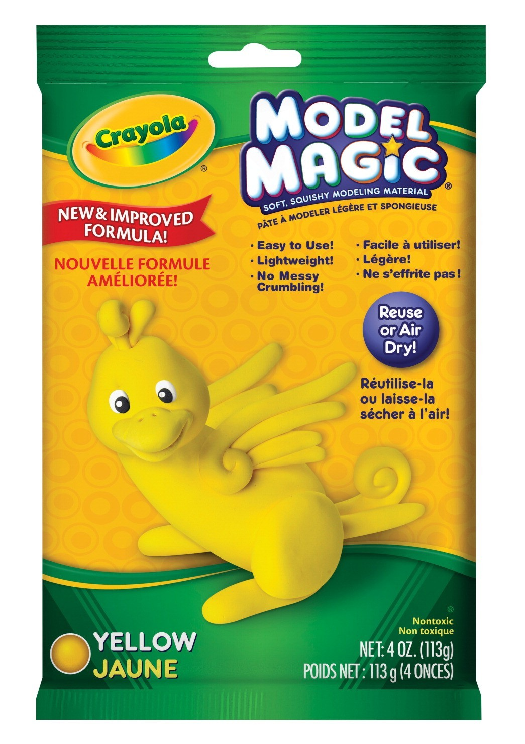 Model Magic Yellow 4oz