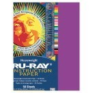 12 X 18 Tru-Ray Construction Paper - 50/Pkg - Magenta