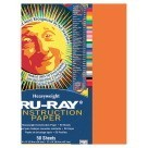 12 X 18 Tru-Ray Construction Paper - 50/Pkg - Orange