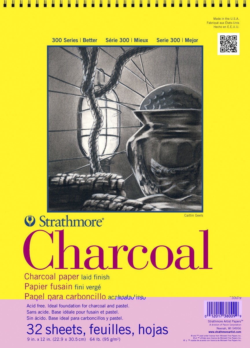 "11 X 17"" Strathmore Charcoal Drawing Pad, 32 Sheets"