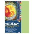 9 X 12 Tru-Ray Construction Paper - 50/Pkg - Chartreuse
