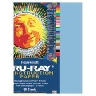 12 X 18 Tru-Ray Construction Paper - 50/Pkg - Sky Blue