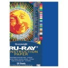 12 X 18 Tru-Ray Construction Paper - 50/Pkg - Royal Blue