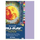 12 X 18 Tru-Ray Construction Paper - 50/Pkg - Lilac