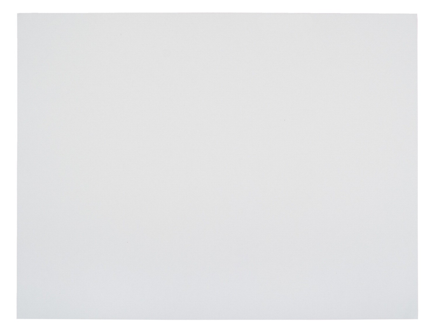 "Railroad Board, 22 X 28"", 4-Ply Thickness, White - 100/Pkg"