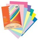 8-1/2 X 11 Card Stock, Array 65 lb - Acid-Free Heavy Weight, Pastel-Bright, 250/Pkg