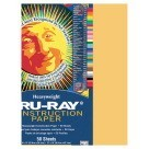 12 X 18 Tru-Ray Construction Paper - 50/Pkg - Gold