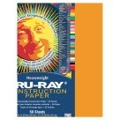 12 X 18 Tru-Ray Construction Paper - 50/Pkg - Pumpkin