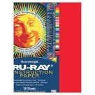 18 X 24 Tru-Ray Construction Paper - 50/Pkg - Festive Red