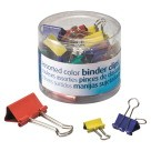 Binder Clips, Assorted Colors & Sizes - 30/Pkg