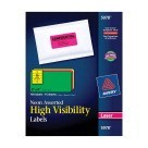 2 X 4, Avery 5978 Shipping Labels, Assorted Neon Colors - 150/Pkg