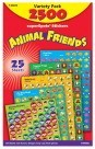 SuperSpots Animal Friends Sticker Variety Pack - 2500/Pkg