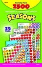 Seasons Sticker Variety Pack - 2500/Pkg