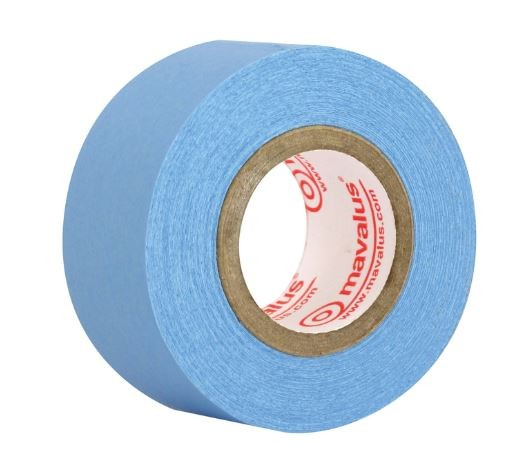 "1"" X 10 yd School Specialty Mavalus Removable Poster Tape with 1"" Core, Blue"
