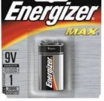 9V Battery, Energizer - Each