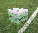 Field Marking Spray Paint, 18 Oz Cans - White - 12/Case