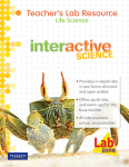 Interactive Science Life Science Teachers Edition 9780133210125
