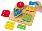 Sort-A-Shape Activity Board - (Lakeshore Learning JJ434)