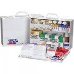 Metal First Aid Kit A, 515 Pieces, 75 Person - 42120