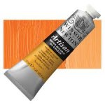 Oil Paint, Winsor & Newton Artisan, Water Mixable, 37 ml Tube - Cadmium Yellow Deep Hue
