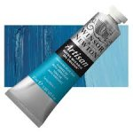 Oil Paint, Winsor & Newton Artisan, Water Mixable, 37 ml Tube - Cerulean Blue Hue