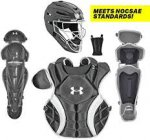 Under Armour Fast Pitch PTH Victory Series Catcher's Box Set - Black