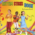Rhythm Sticks Rock CD -Georgiana Stewart