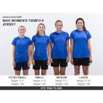 Nike SS Tiempo II Women's Soccer Jersey - Choose Color & Size at time of order - 645507 **