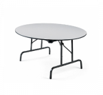 "60"" Round Folding Table, 29"" H - Global GFFTR60D"