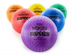 "7"" Playground Balls, Rubber, Latex Free  - Assorted Colors - 6/Set"