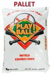 Infield Conditioner, Premium Calcined Clay, Play Ball by EP Minerals - #50 Bag/ 40/PLT- SAMPLE REQUIRED