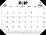 14 Month Desk Pad Calendar Refill, 22 X 17 In., 2021-2022, Jul - Aug