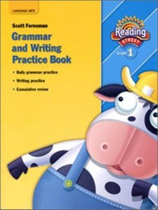 Writing And Grammar Workbook, Grade 1 - 0-328-14622-6