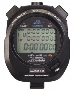 Stopwatch, Displays Hours, Minutes, Seconds And Days Of Week, Has Built-in Audible Alarm And Light - 1392344