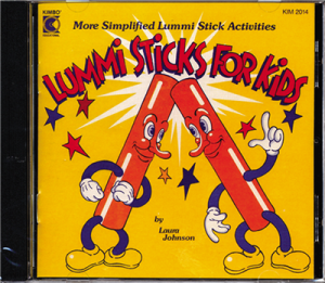 Lummi Sticks for Kids CD - L. Johnson